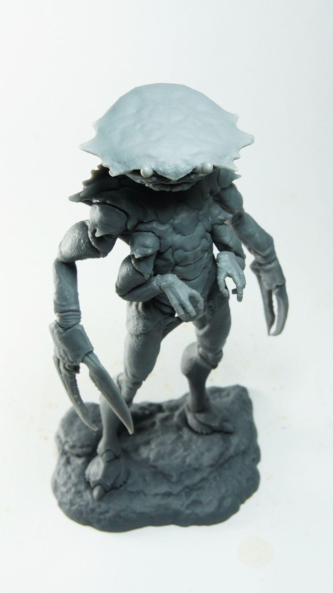 ArtStation - Chrustian Seabourne - 3D print, Paul Braddock
