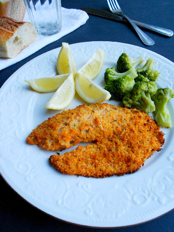 Photo of Parmesan-Crusted Tilapia and a Giveaway!