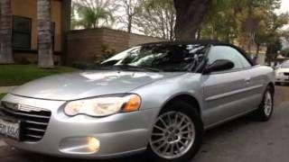 2006 Chrysler Sebring Touring V6 2 7 Convertible In Burbank Ca