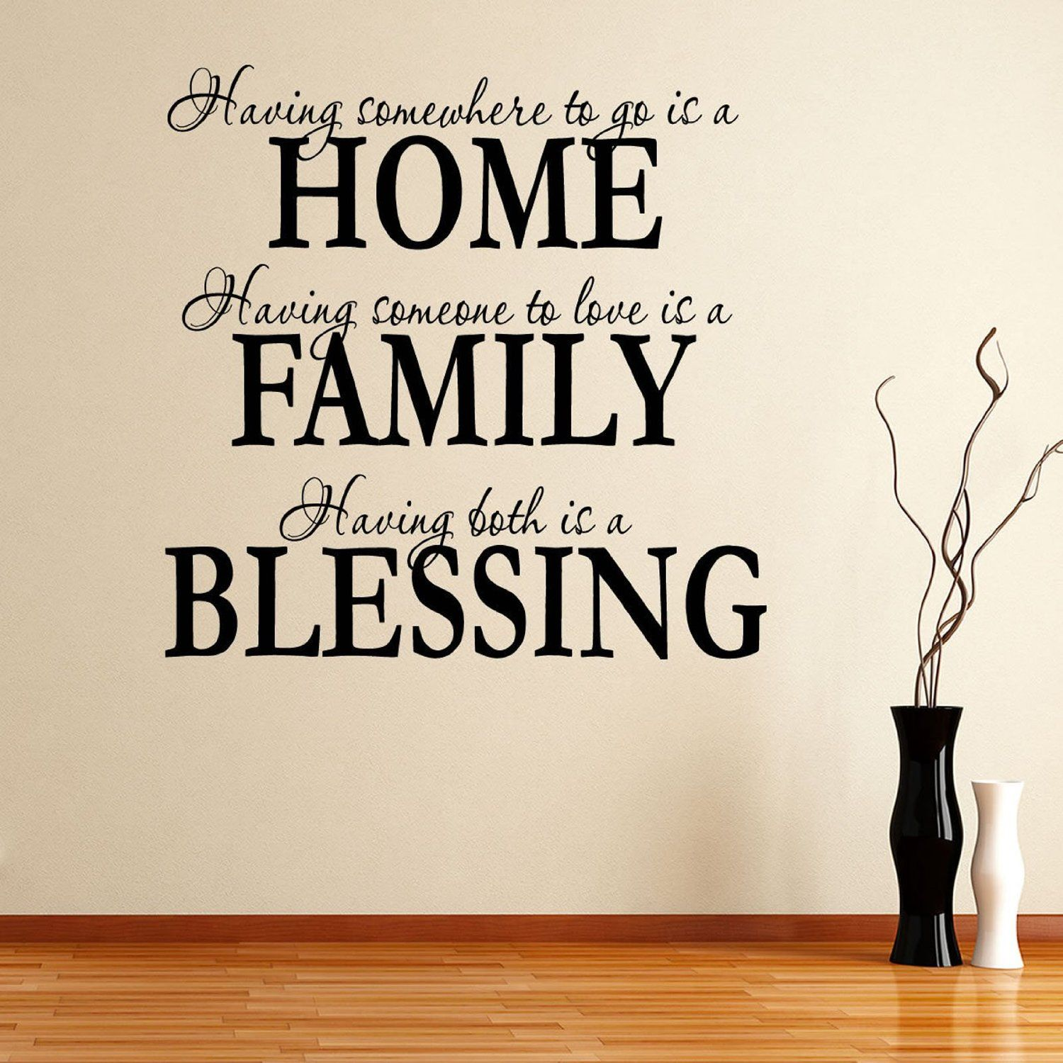 AmazonSmile - Having Somewhee to Go Is a Home Family Blessing Wall ...