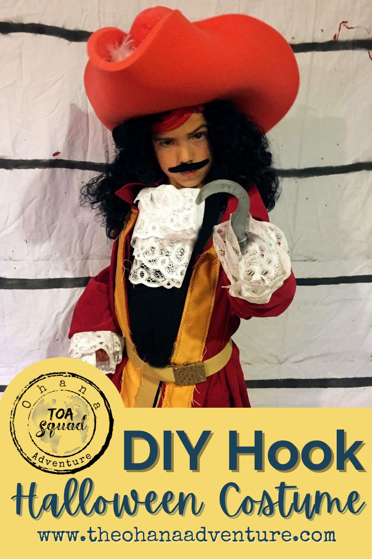 Diy Captain Hook Halloween Costume Captain Hook Halloween Costume Disney Villain Costumes Captain Hook Costume
