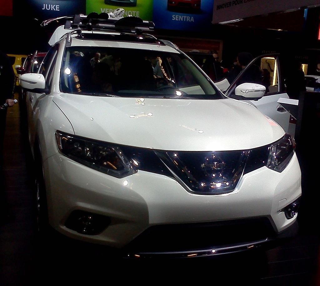Nissan rogue small suv with 3rd row and good gas mileage see more details