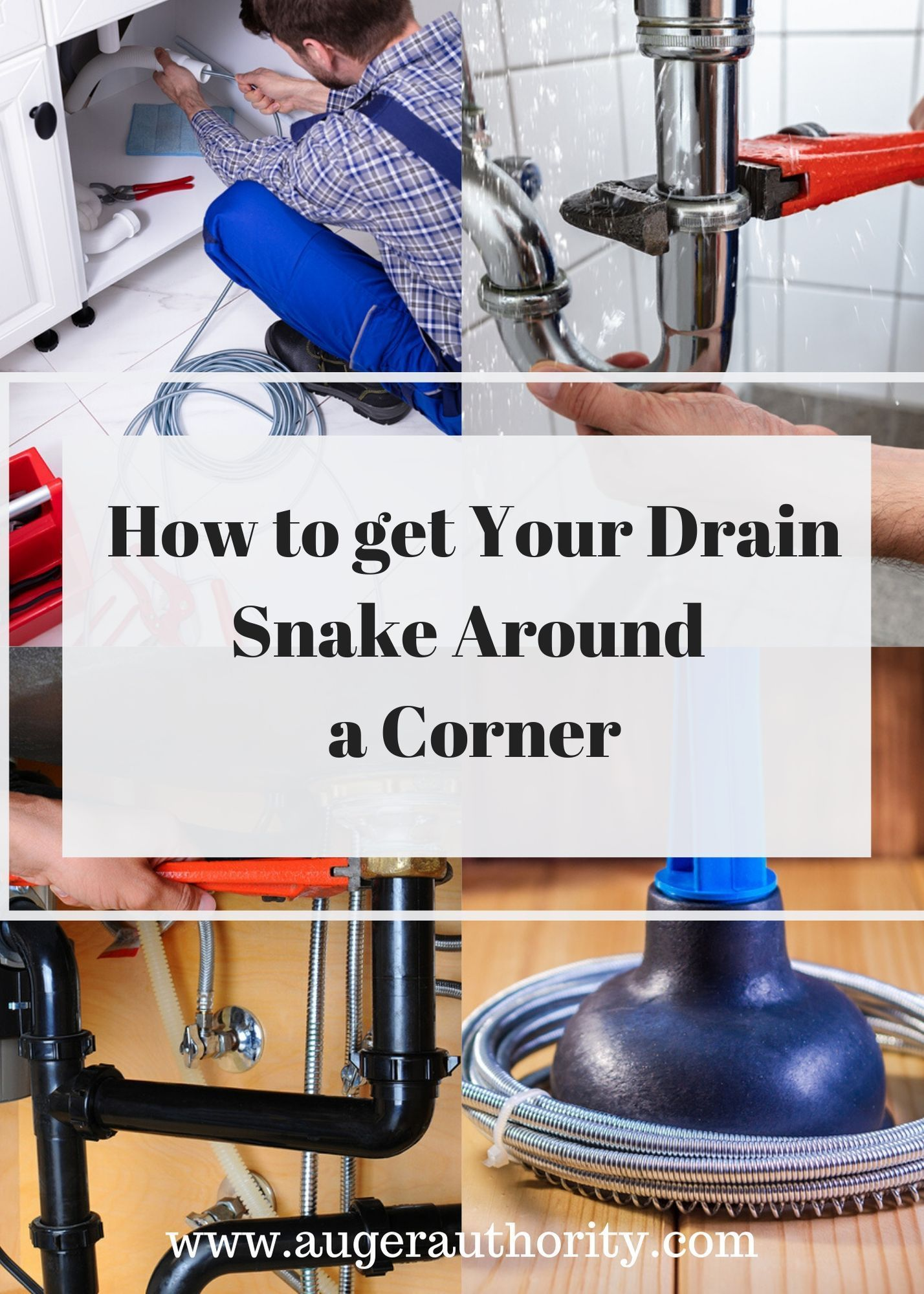 How To Get A Drain Snake Around A Corner Drain Snake Plumbing Humor