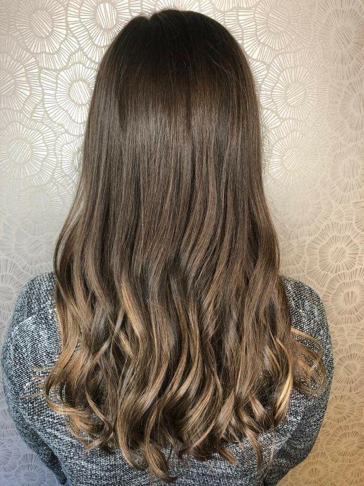 Balayage Haircut By Shana Vandecasteele Balayage On Brunette