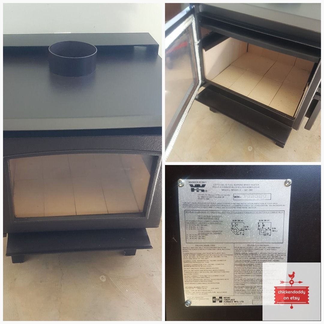 Wood Stove Air Tight Professionally Reconditioned Stoves For
