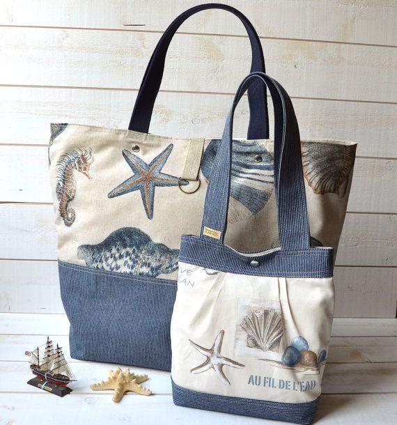 Recycled denim jean design handbag