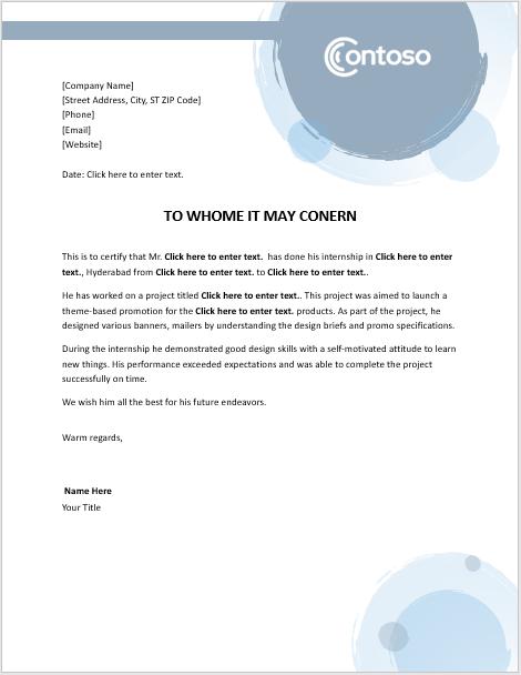 9+ internship certificate formats | free printable word & pdf.