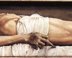 The Body of the Dead Christ in the Tomb - Hans Holbein the Younger