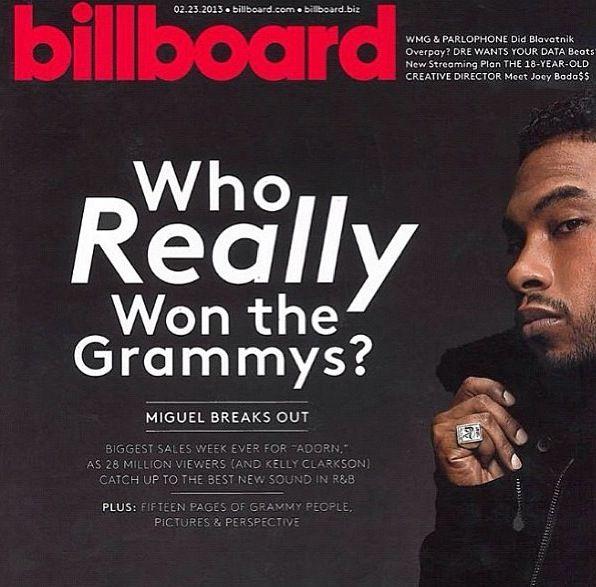 Miguel...Billboard magazine article