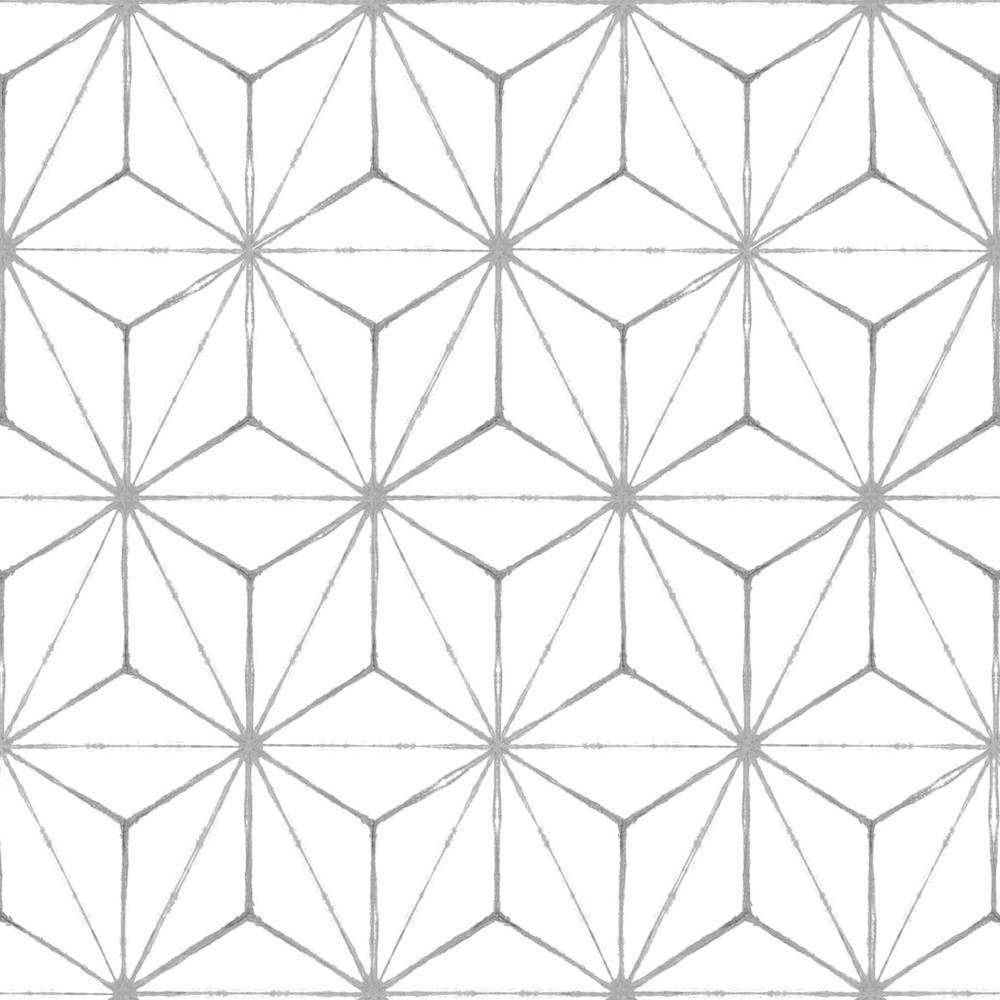 Floorpops Kikko Peel And Stick Floor Tiles 12 In X 12 In 20 Tiles 20 Sq Ft Tfp2481 The In 2020 Peel And Stick Floor Peel And Stick Vinyl Adhesive Floor Tiles