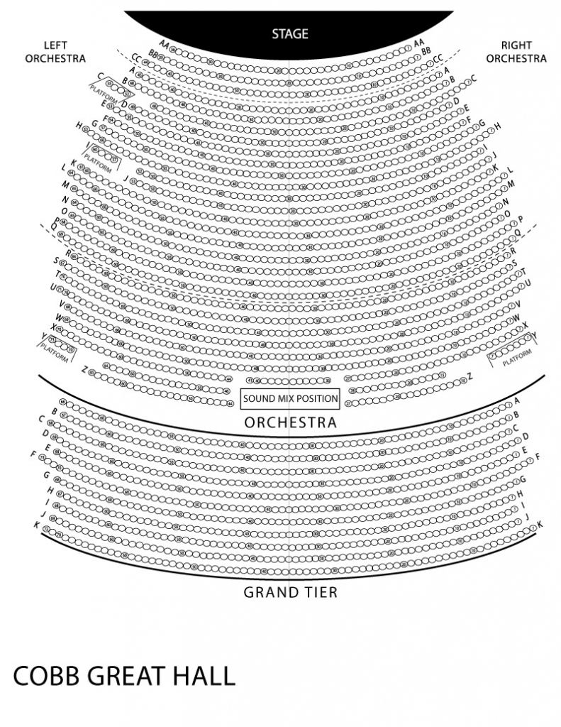 Red Rocks Seating Chart With Seat Numbers Di 2020