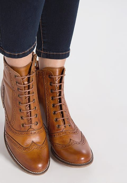 6f478ed0a3 Pier One Lace-up boots - cognac for £64.99 (02 07 17) with free delivery at  Zalando