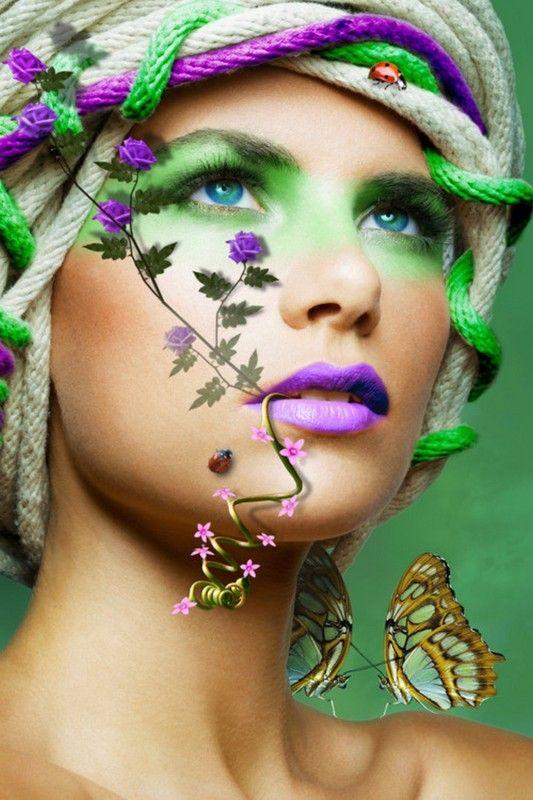 beau visage · Maquillage ArtistiqueLe