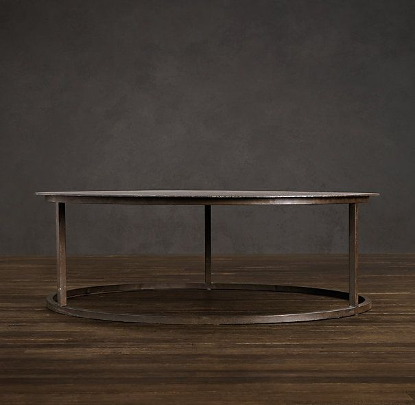Restoration Hardware - Metal Table - 30""