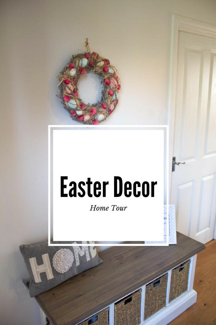 Easter Decor Home Tour