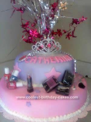 Coolest Glamour Birthday Cake Idea Birthday cakes Birthdays and