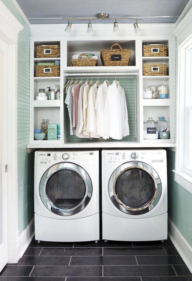 68 Stunning Diy Laundry Room Storage Shelves Ideas Small