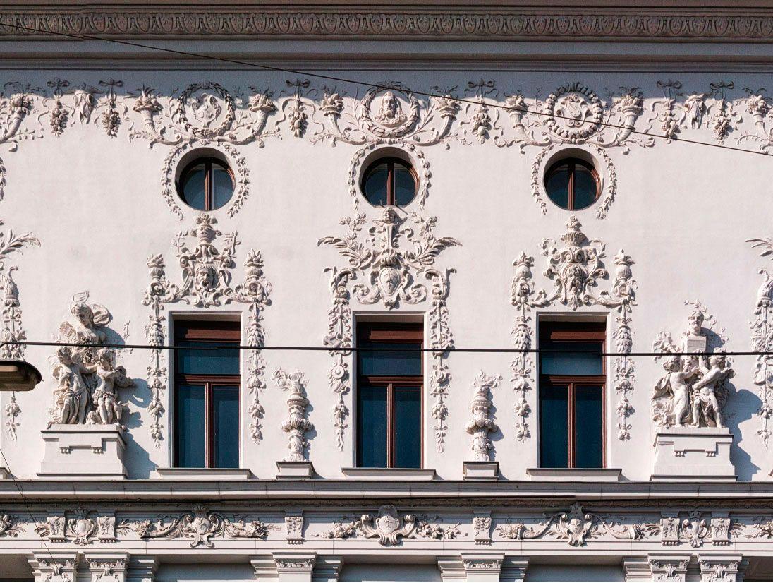 Modern Architecture Vienna otto wagner, 1890-1891. rococo and vienna secession for the
