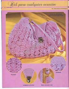 morrales y mochilas crochet 3 - magicos43 - Álbumes web de Picasa