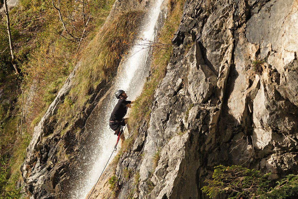 Klettersteig Montafon : Klettersteig gargellner köpfe august im montafon youtube