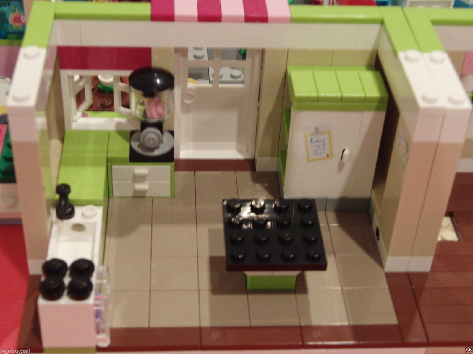 Lego Friends 3315 Olivias House Kitchen Tile Remodeling Kit