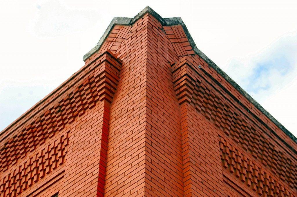 North Side Style Corbelling Brick Decor Brick Art Brick Arch