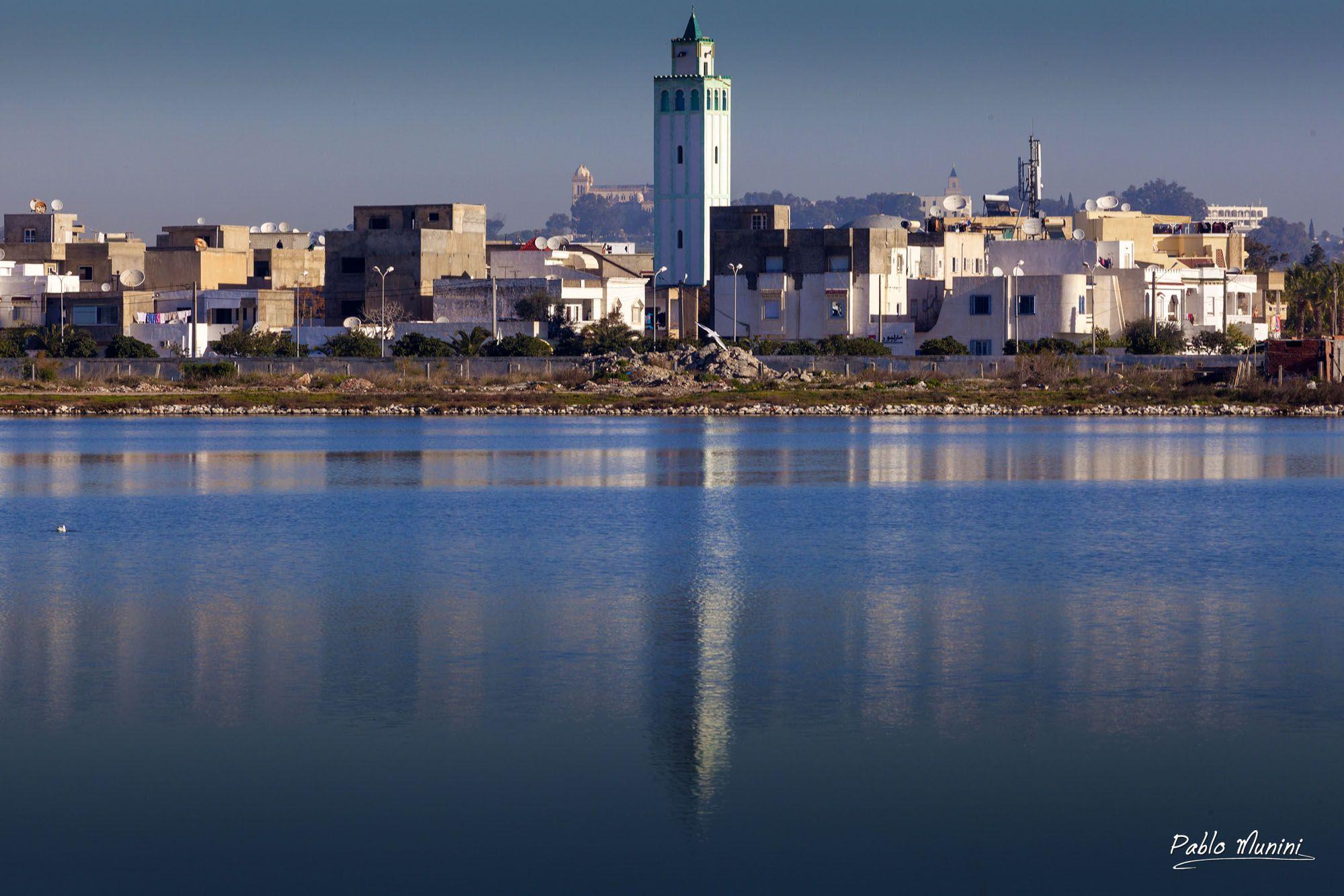 Tunisie Cote Mer La Goulette Tunis Tunesien