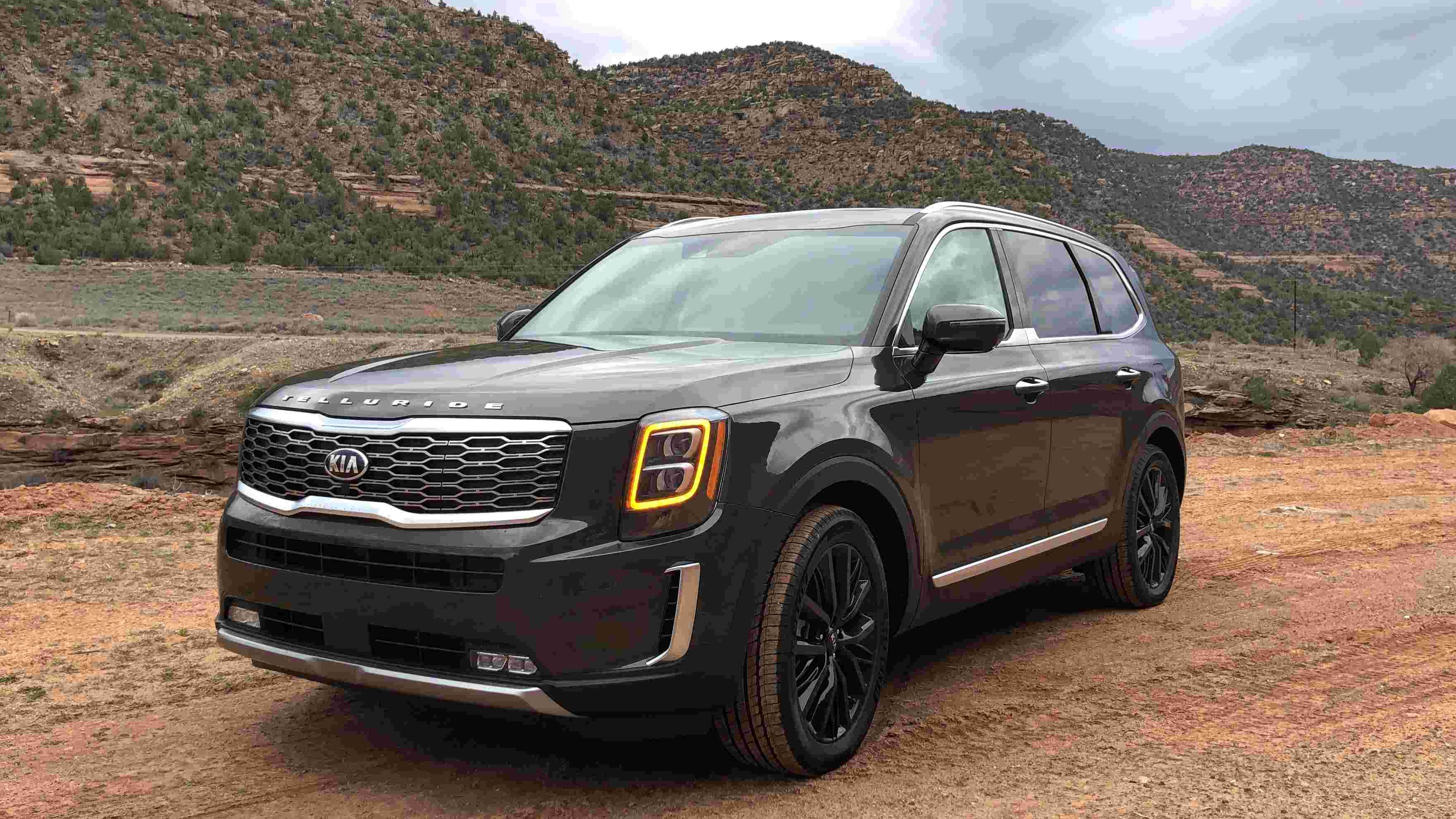 2019 Kia Telluride. Stupid name for yet another SUV. When