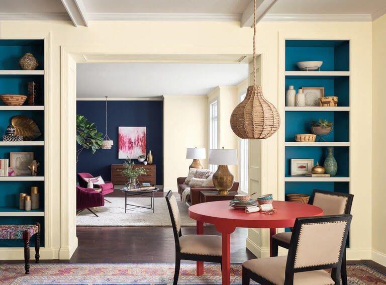 Cat Warna Biru Langit - Desain Rumah Idaman
