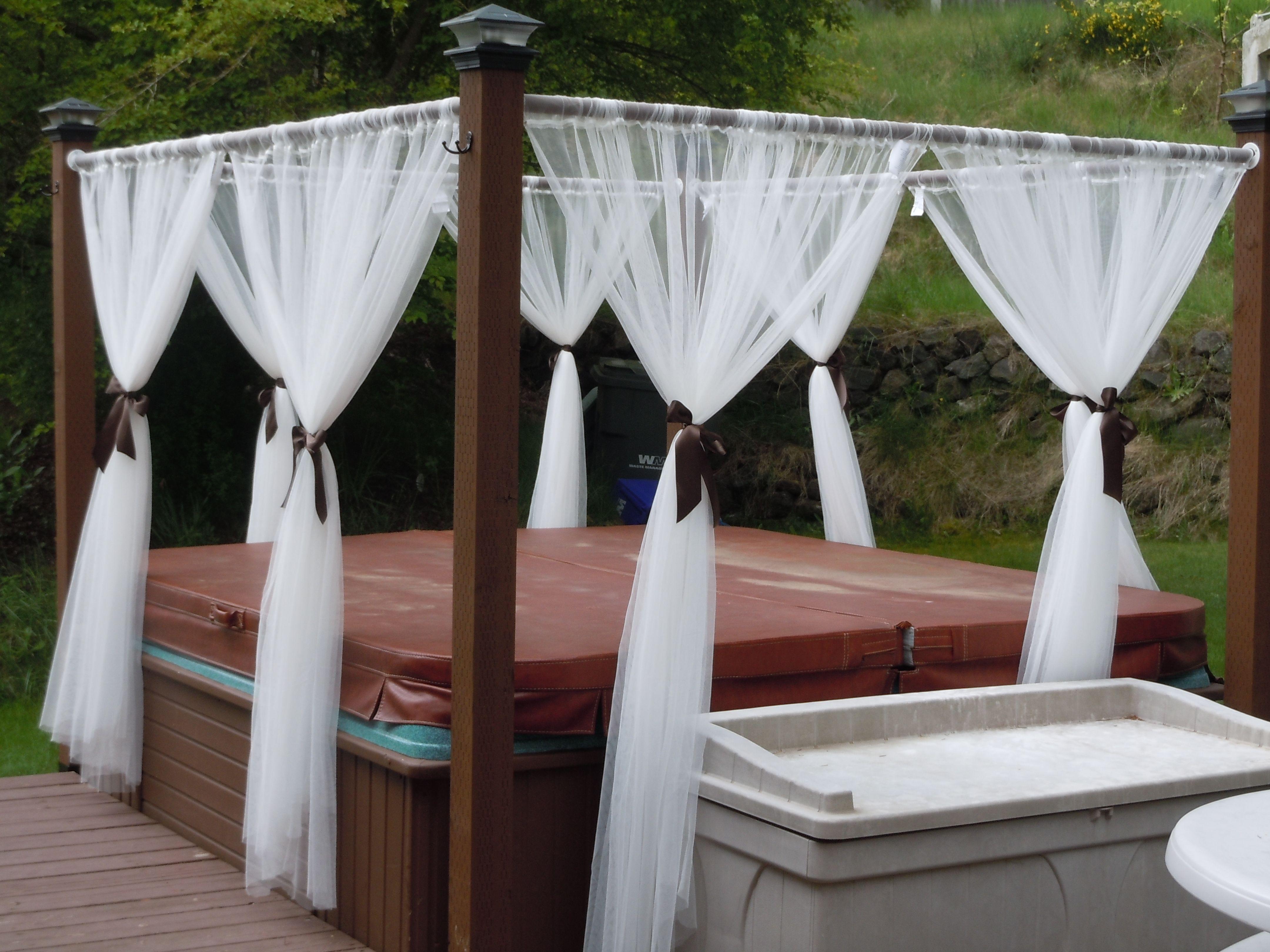diy pool enclosure lighting