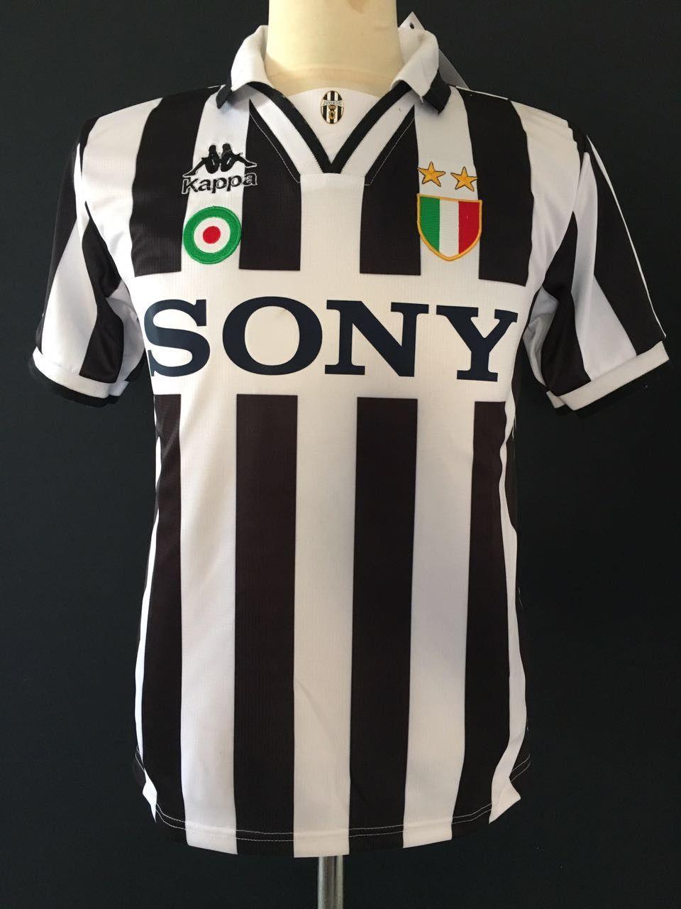 1c7511a0b 1995 96 Juventus Home Shirt