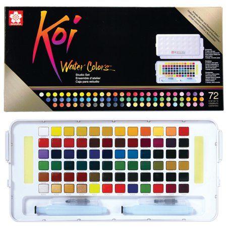 Arts Crafts Sewing In 2020 Sakura Koi Watercolor Sketch Box Koi