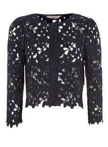 Sienna Cover-Up Jacket - Navy