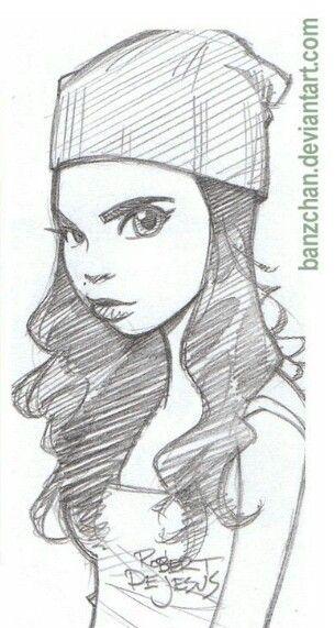 Pin de Sara Elbaz en Easy Drawings | Pinterest | Dibujos de personas ...