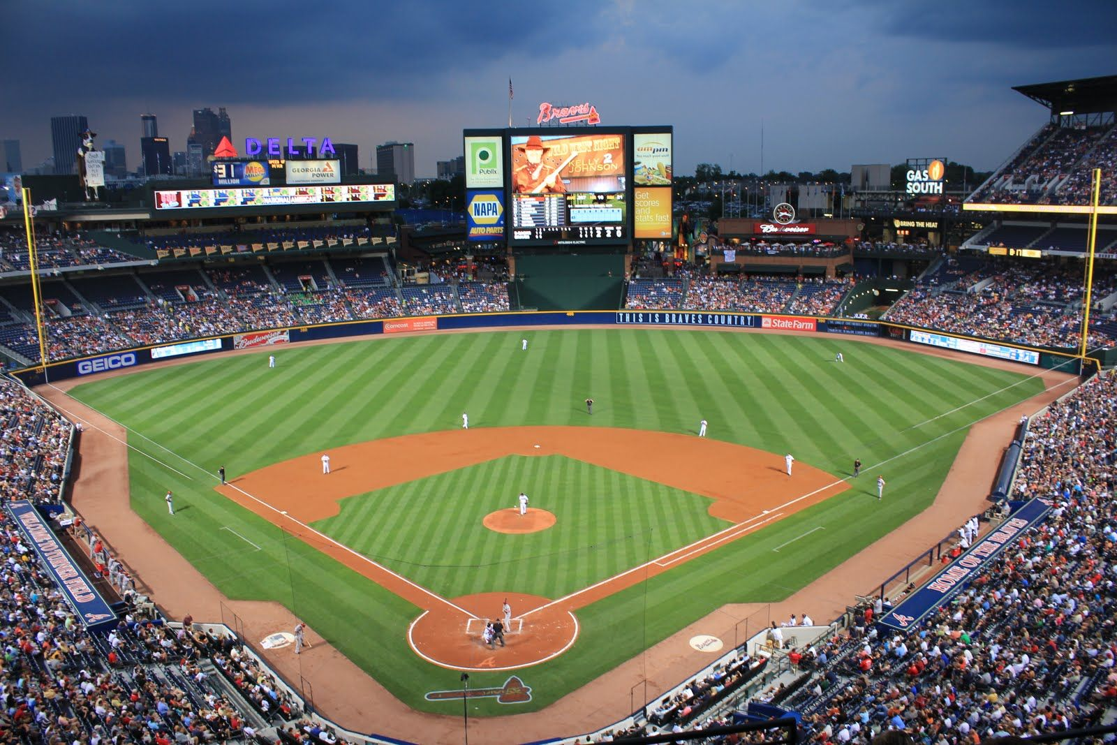 Turner Field Atlanta Ga Current Home Of The Atlanta Braves Turner Field Mlb Stadiums Field