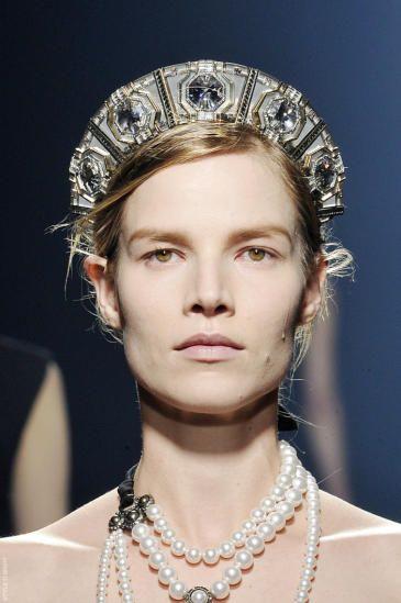 Greek- Stephane (bridal crown)- Lanvin F/W 2013 | 3-Crete ...