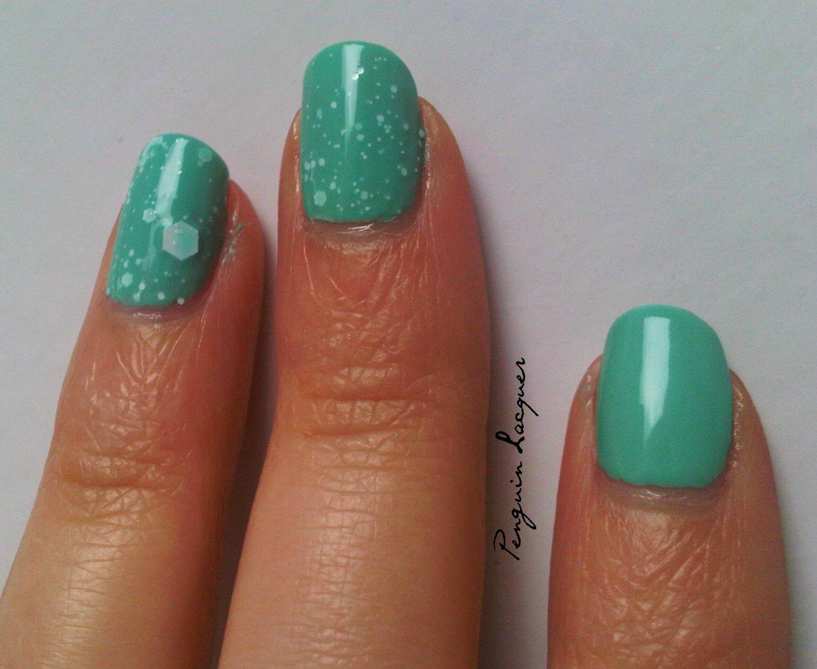 Maybelline Acid Washs: Mint Acid-tittude http://penguinlacquer.blogspot.de/2014/07/schaumbad-in-mint.html #maybelline