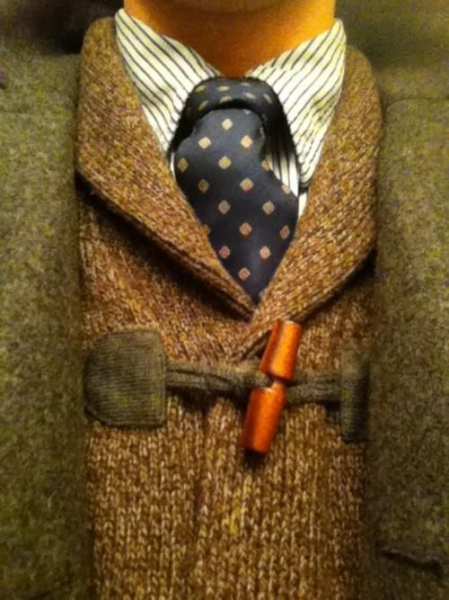 Classic style. Tweed.
