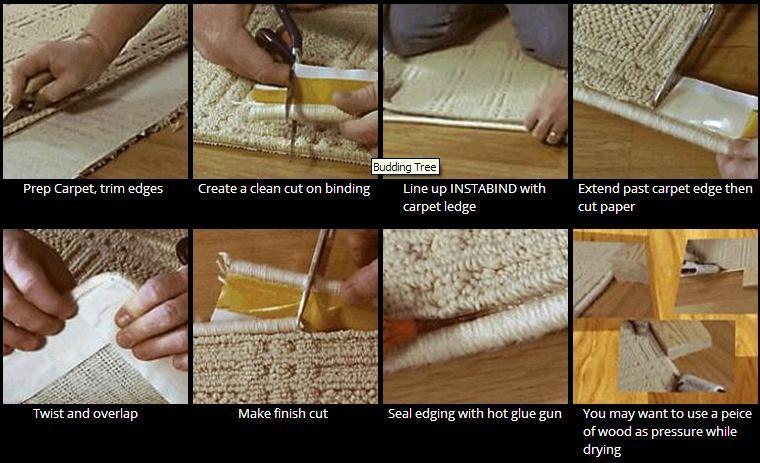 Instabind Canada Diy Carpet Binding Edging Diy Carpet Diy Rug Diy Flooring
