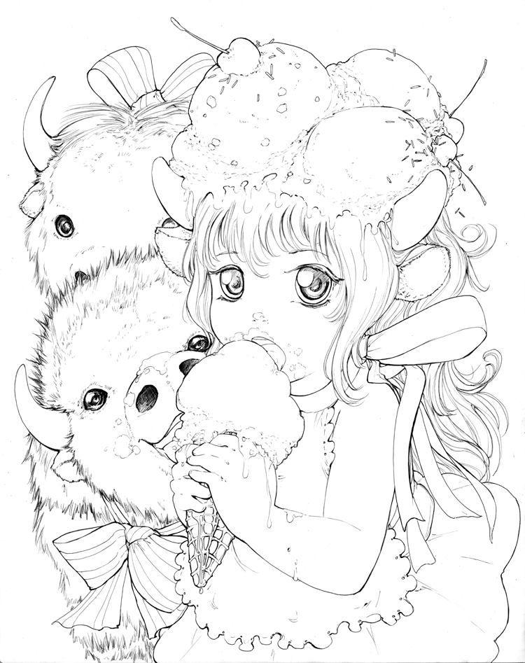 Jenny S Ice Cream Girl By Camilladerrico On Deviantart Manga
