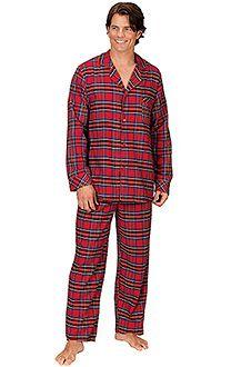8a8b560789 Stewart Plaid Flannel Matching Family Pajamas