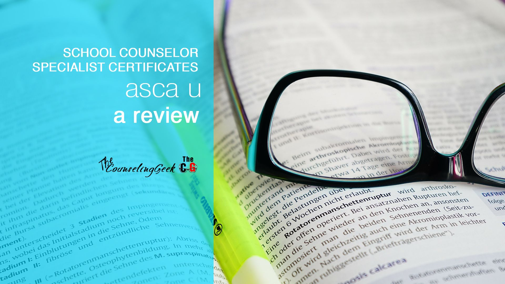 ASCA Specialist Certificate Programs A Review Online