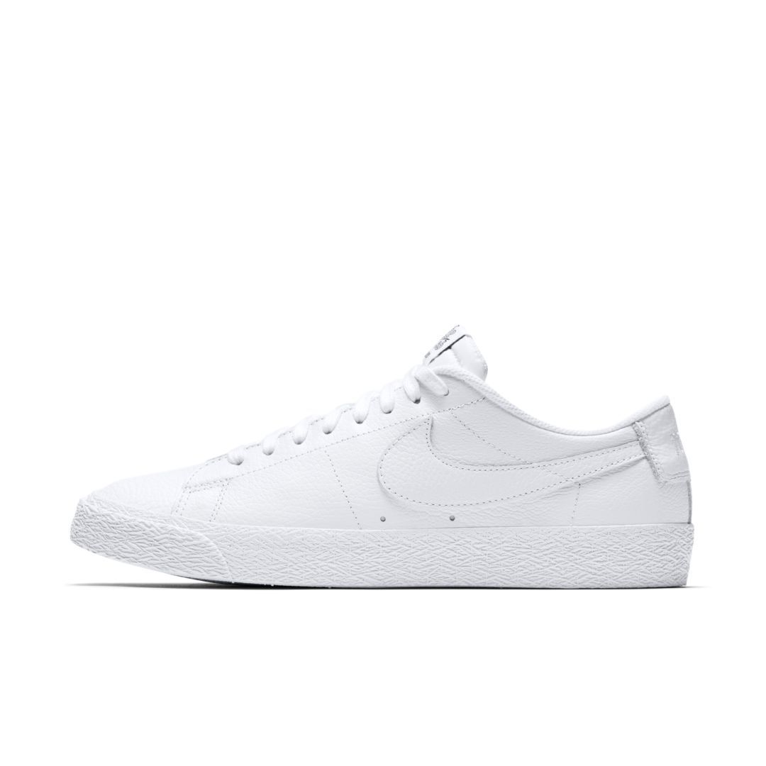 da0fe4298aee0 Nike SB Zoom Blazer Low NBA Skate Shoe Size 5.5 (White)