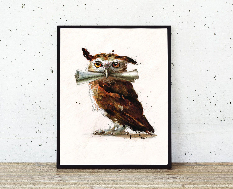 Harry Potter Errol Harry potter painting, Owl art
