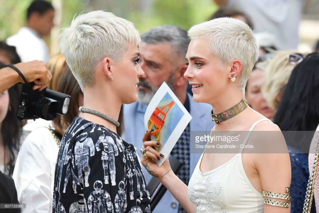 Katy perry and cara delevingne attend the chanel haute couture show katy perry and cara delevingne attend the chanel haute couture show picture id807735962 1024683 pixels altavistaventures Image collections