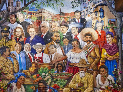 This Mural Is Inside Quot Mi Tierra Quot Restaurant In San