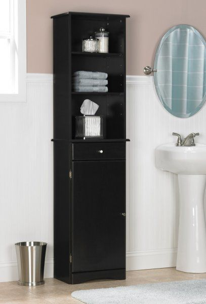 tall cabinet storage tall bathroom storage cabinet