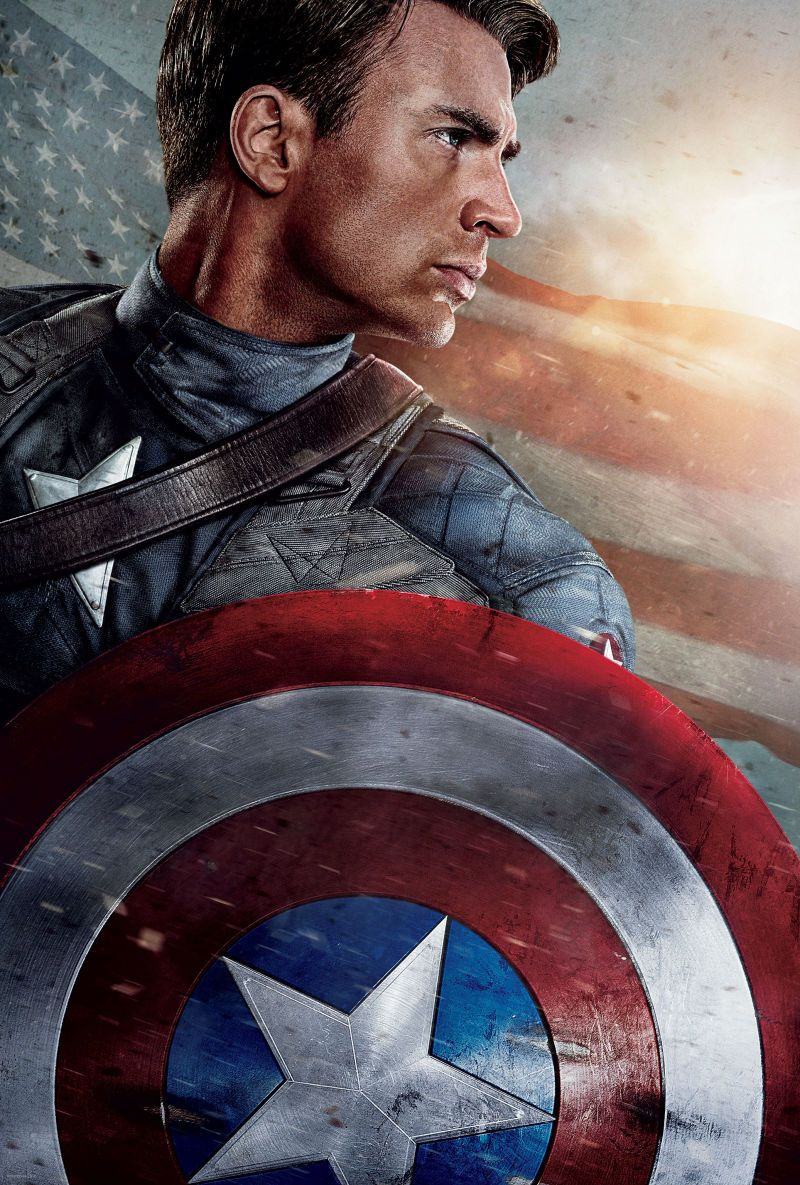 High-Res Captain America Stills: F*@% Yeah!