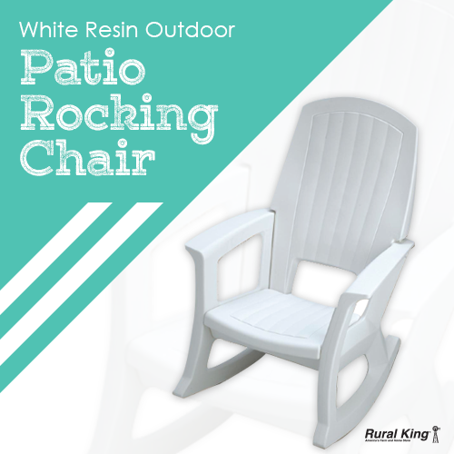 It's all about the patio furniture this year and