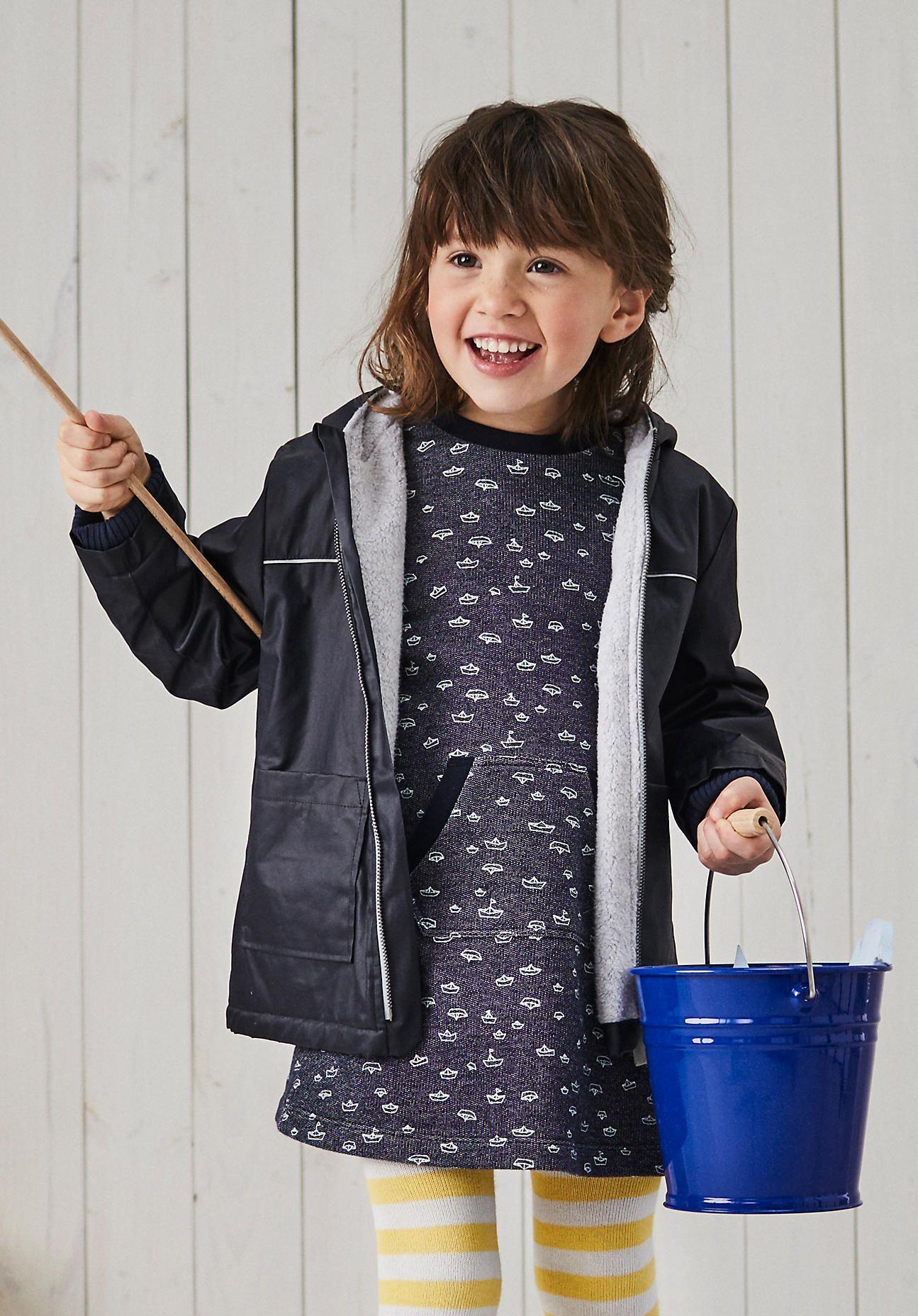 hessnatur Baby Kleid aus Bio-Baumwolle – blau – Größe 86/92 Jetzt ...
